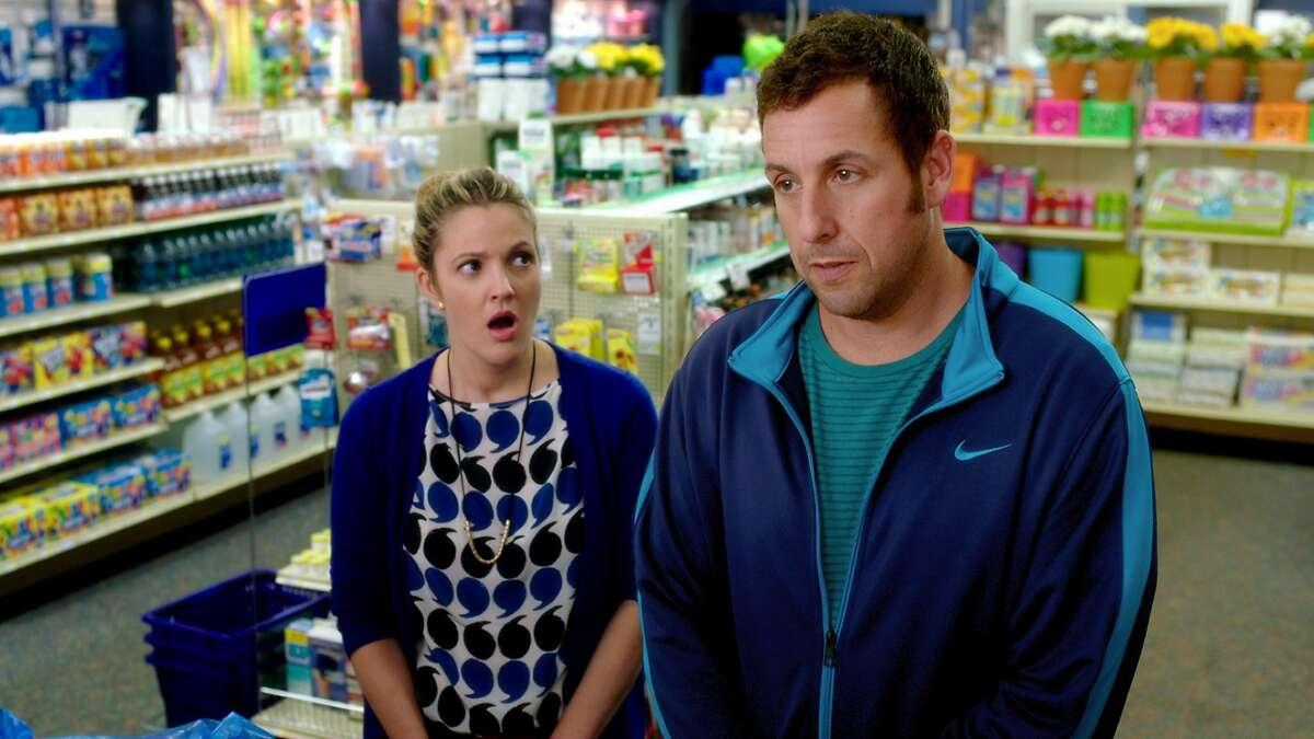Drew Barrymore and Adam Sandler star in,