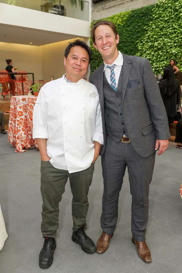 Charles Phan and Caleb Zigas at La Cocina's 2nd Annual Gala on May 12, 2014. Photo: Drew Altizer Photography/SFWIRE, Drew Altizer Photography / ©2014 Drew Altizer Photography