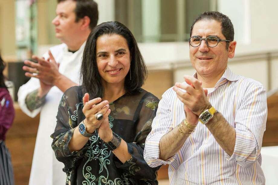 Lorella Degan and Massimiliano Conti at La Cocina's 2nd Annual Gala on May 12, 2014. Photo: Drew Altizer Photography/SFWIRE, Drew Altizer Photography / ©2014 Drew Altizer Photography