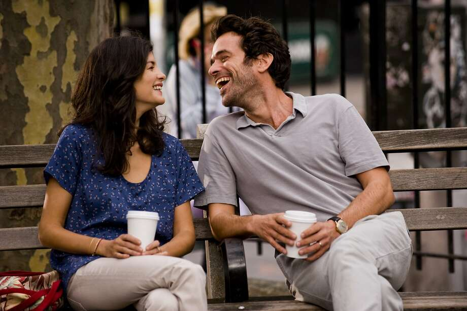 "Audrey Tautou (as Martine) and Romain Duris (as Xavier) reprise roles from ""L'Auberge Espagnole"" and ""Russian Dolls,"" but now approaching age 40. Photo: Courtesy Of Cohen Media Group"