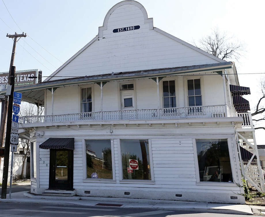 The historic Boehler/Liberty Bar building   Photo: San Antonio Express-News File Photo / © 2013 San Antonio Express-News