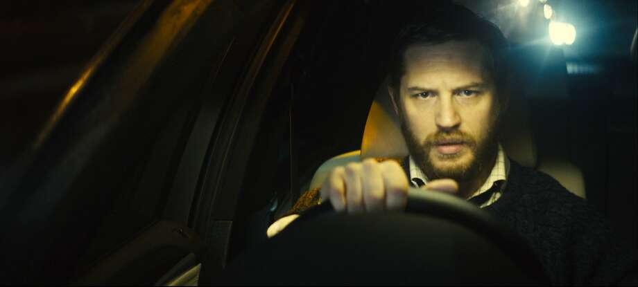 "Life turns upside down for Ivan Locke (Tom Hardy) during a drive full of phone conversations in ""Locke."" Photo: Associated Press"