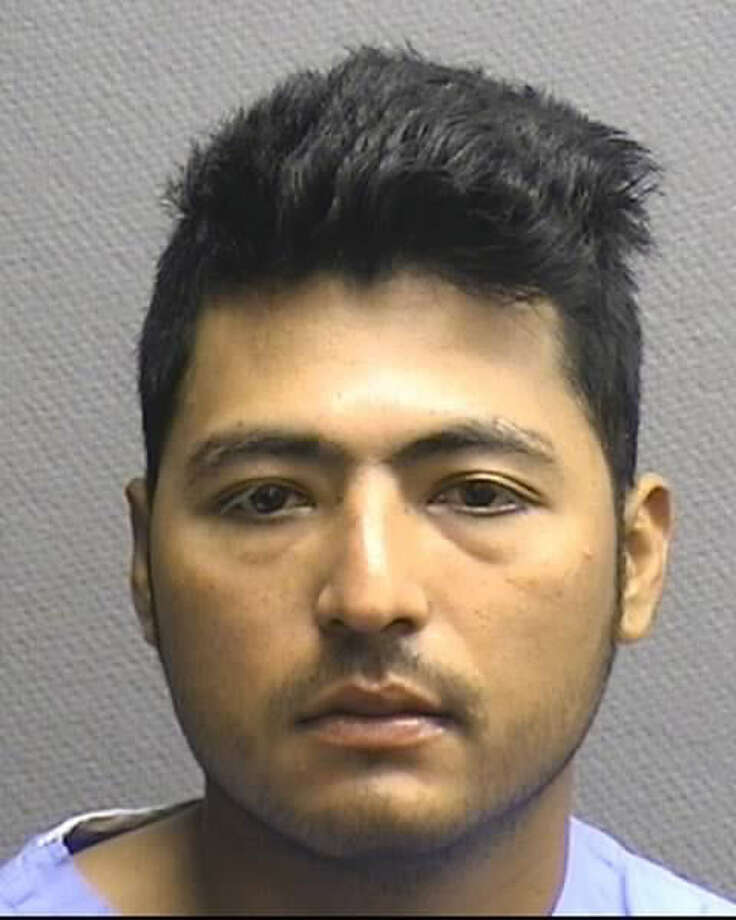 Police say Florian Quintanilla-Riva was driving the wrong way when he crashed his SUV into another car. Photo: Houston Police Department