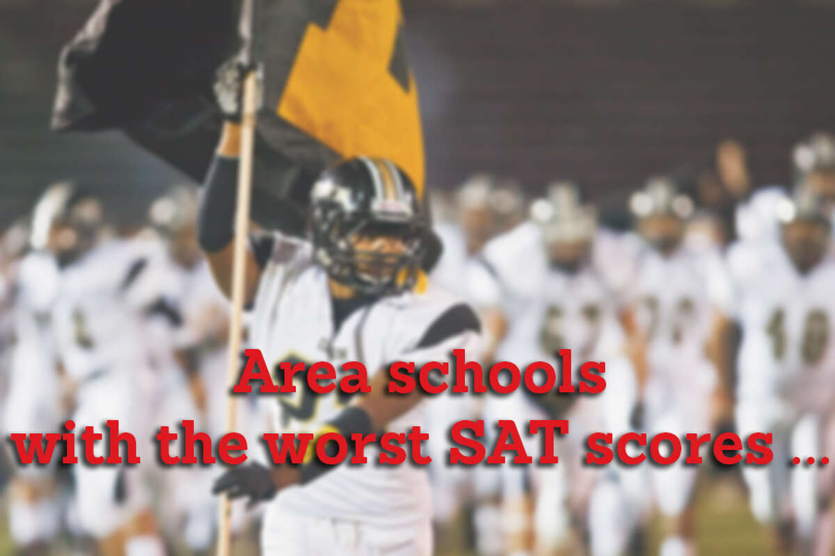 Here are the 10 area schools with the worst average SAT scores.