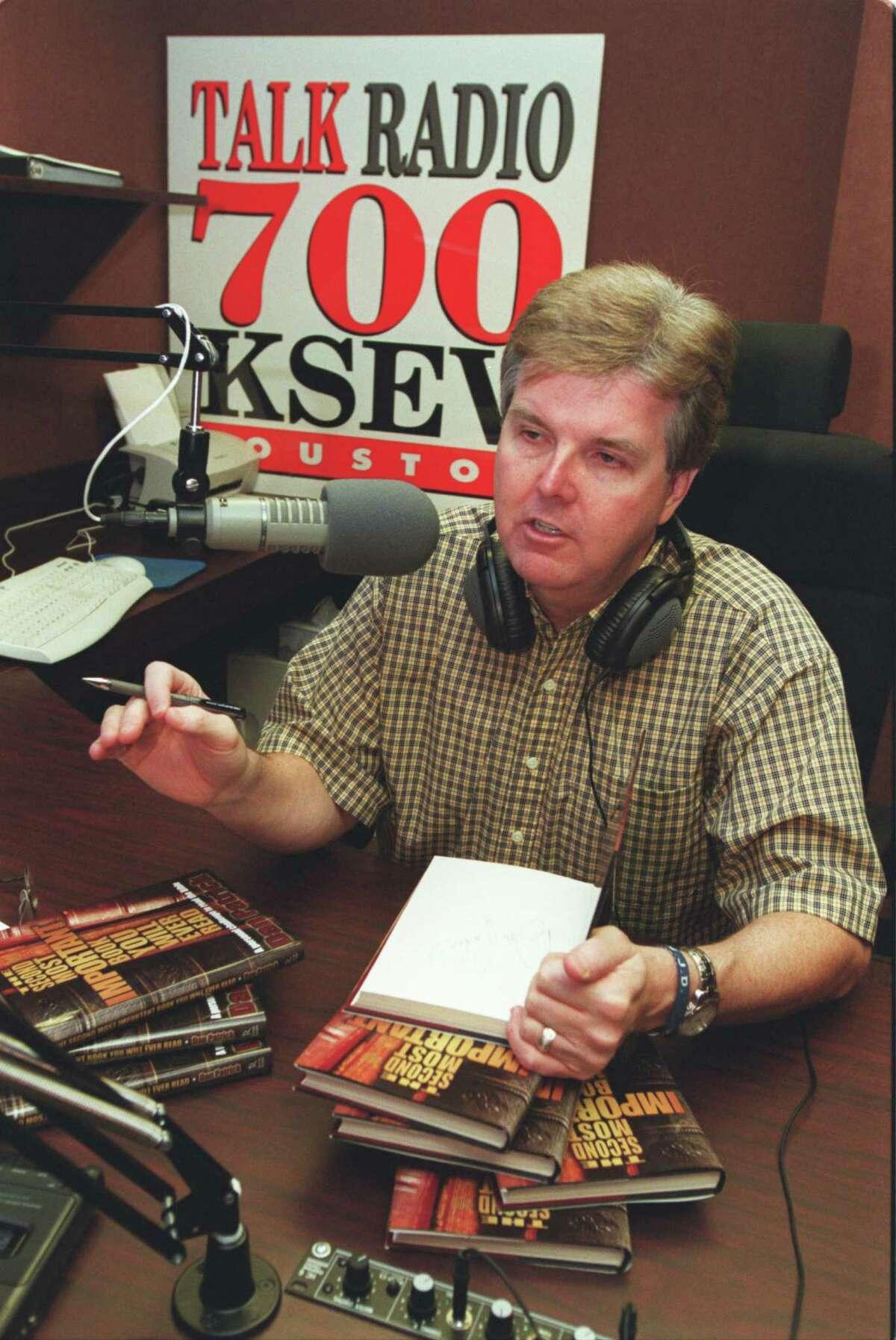 KSEV-AM (700) Rating: 0.3Format: News/talkOwner: Patrick BroadcastingPictured above: Dan Patrick owned KSEV radio in 2002.