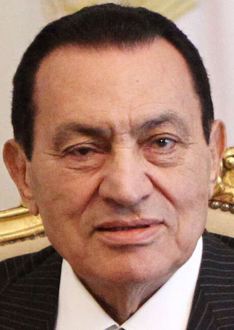 Hosni Mubarak also is being tried in the deaths of protesters. / AFP