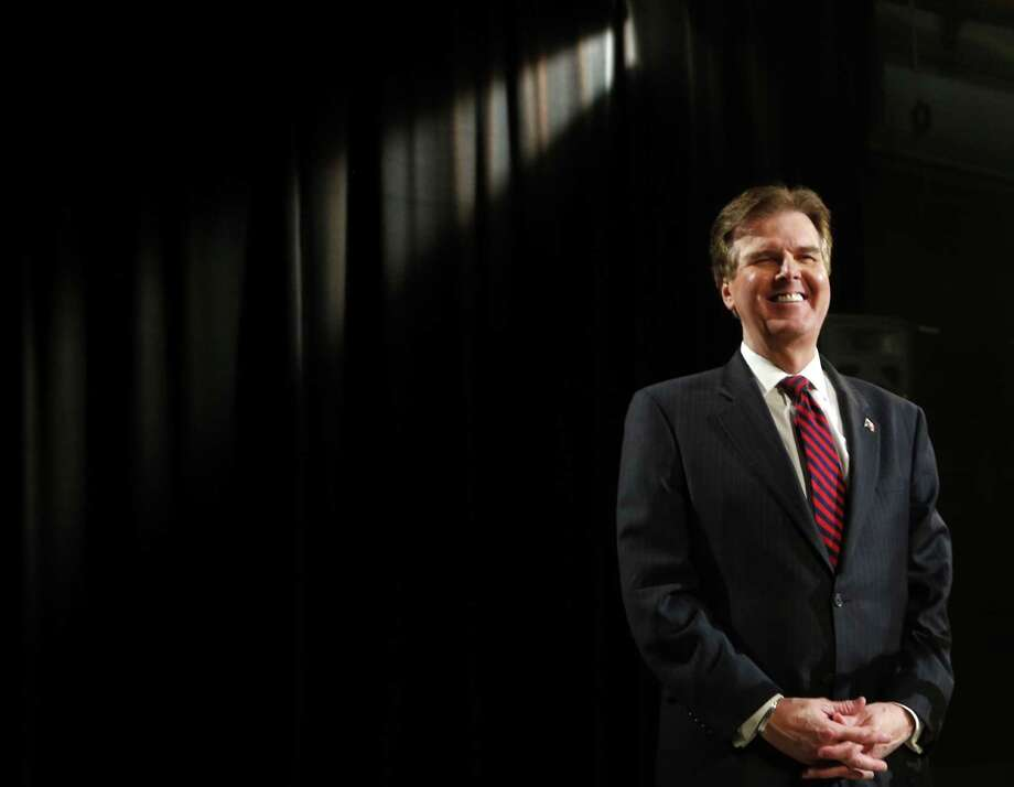 "Sen. Dan Patrick calls himself ""a roll-up-your-sleeve kind of guy who has been at the top and at the bottom of the bottom."" Photo: Associated Press File Photo / The Dallas Morning News"