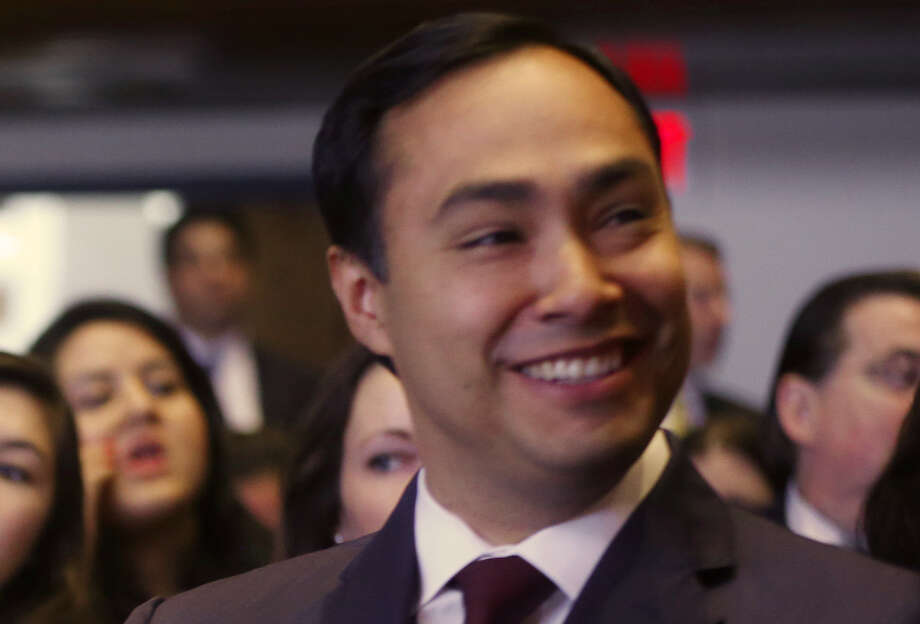 Rep. Joaquin Castro, D-Texas, proposed letting youths with temporary residency grants seek admission to top U.S. military academies. Photo: Charles Dharapak / Associated Press / AP