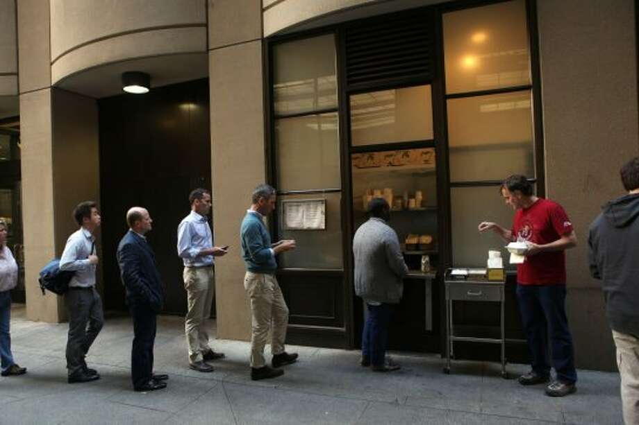 """$5 lunch places...without the mile-long waiting lines.""(Suggested by ""artysf."") Photo: Liz Hafalia, The Chronicle"