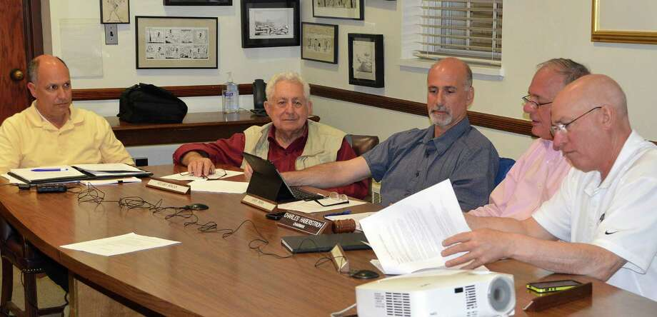 Members of the Parks and Recreation Commission decided Wednesday to hold off on whether to allow sales of alcohol at the Longshore Golf Course halfway house pending a legal opinion. Photo: Jarret Liotta / Westport News