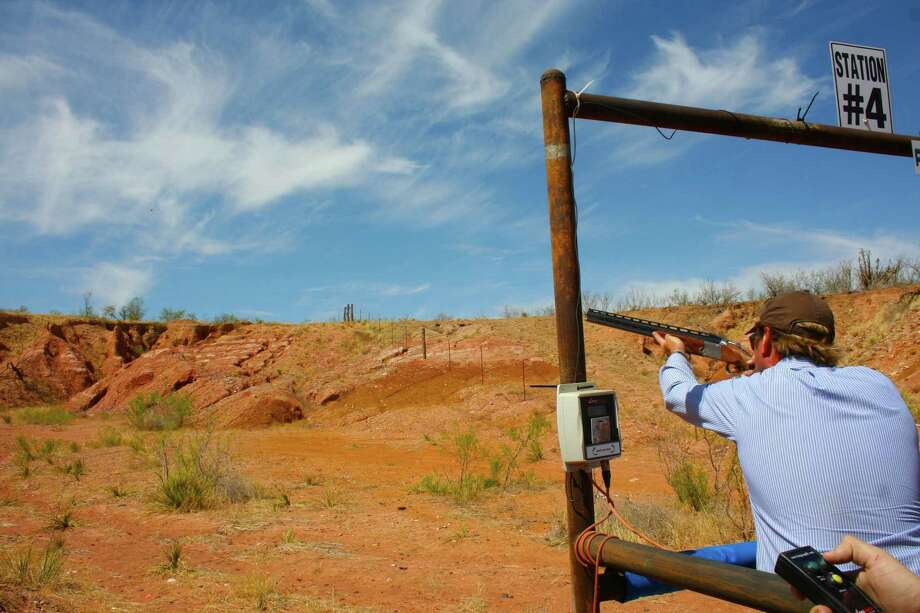 River Breaks Ranch in Amarillo has a public sporting clays course. Photo: Anne Gerken / Anne Meyer