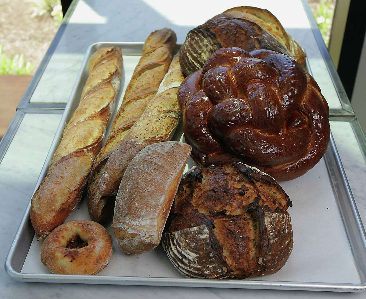 In addition to a variety of breads, Common Bond offers soups, salads and sandwiches.
