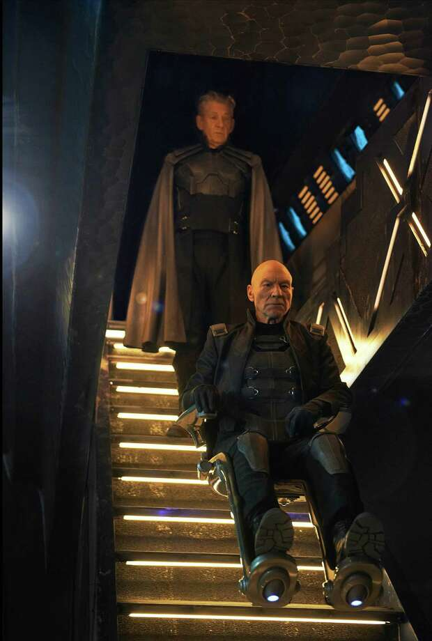 """Ian McKellan, left,  and Patrick Stewart star in """"X-Men: Days of Future Past."""" Photo: HANDOUT, HO / MCT"""