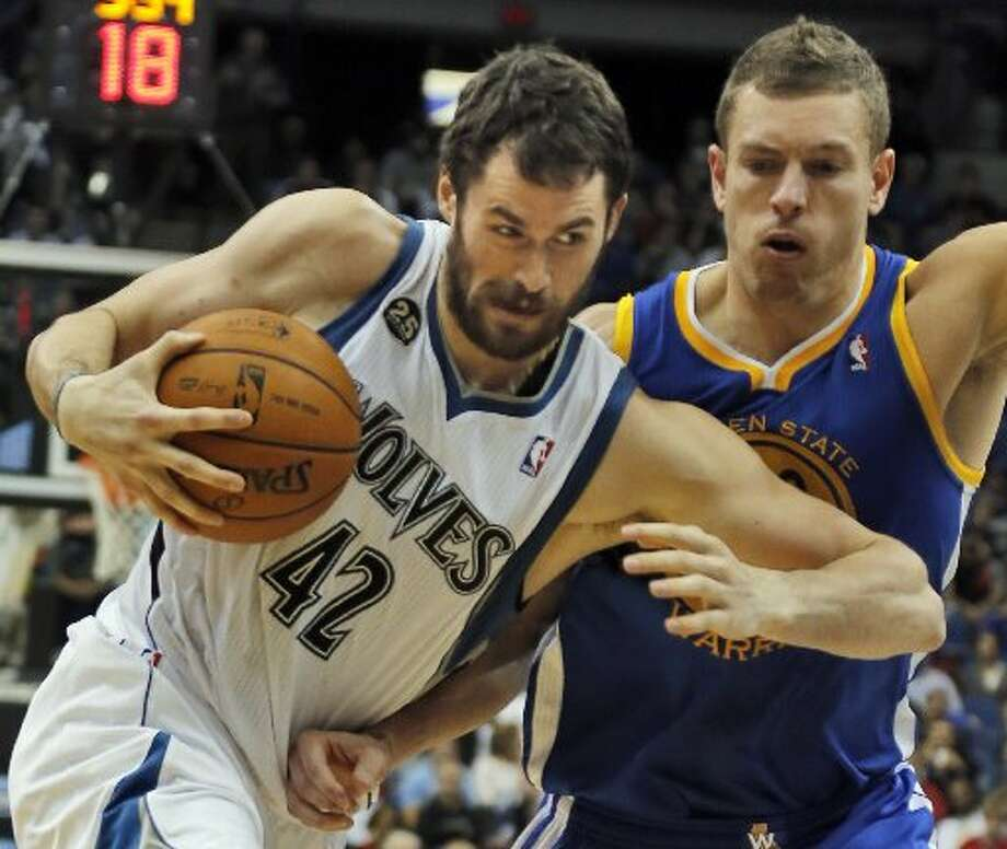 Kevin Love Power forward 6-10, 260 lbsThe 25-year-old won't be able to become a free agent until next summer, though he could be had on the trade market this summer. Photo: Marlin Levison, MCT