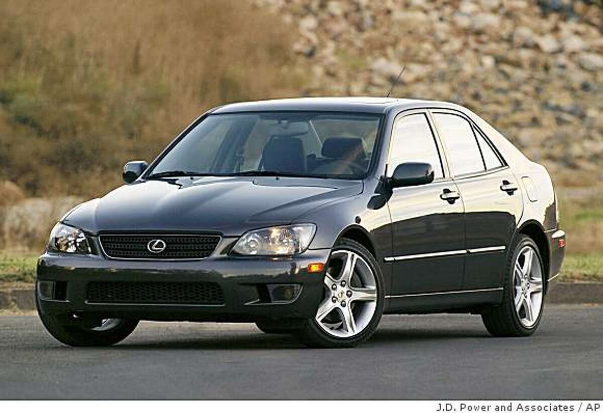 11. The Lexus IS300 Lexus is synonymous with luxury, so you'll have to go back to a 2005 model to keep it under $15k.