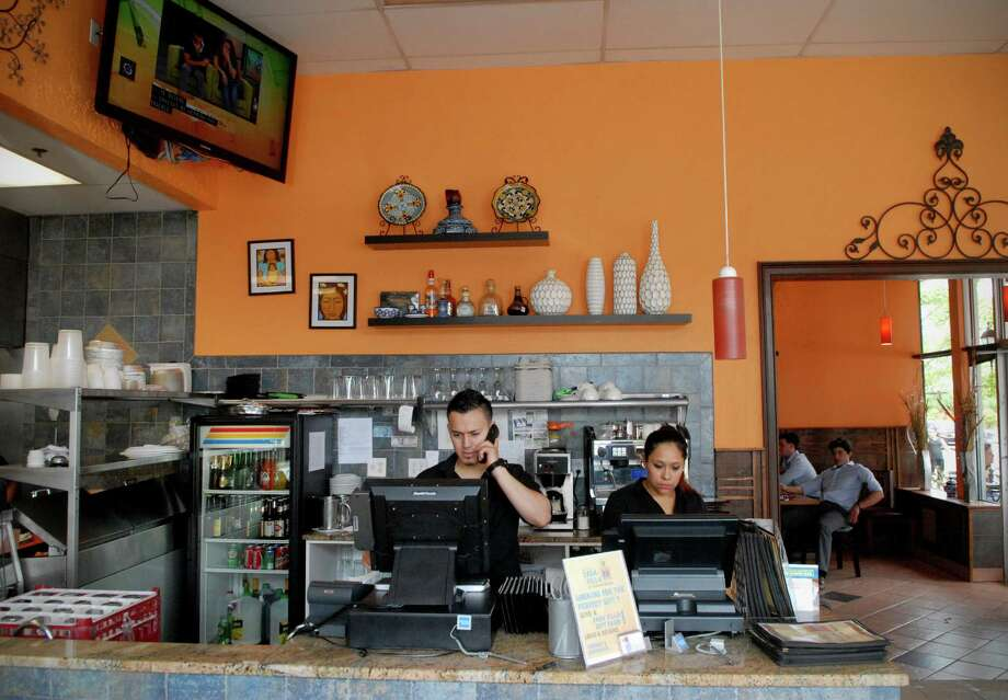 Casa Villa, at 182 W. Main St. Stamford, serves authentic Mexican food, with a menu that reflects the country's diverse regions. Photo: Dru Nadler / Stamford Advocate Freelance