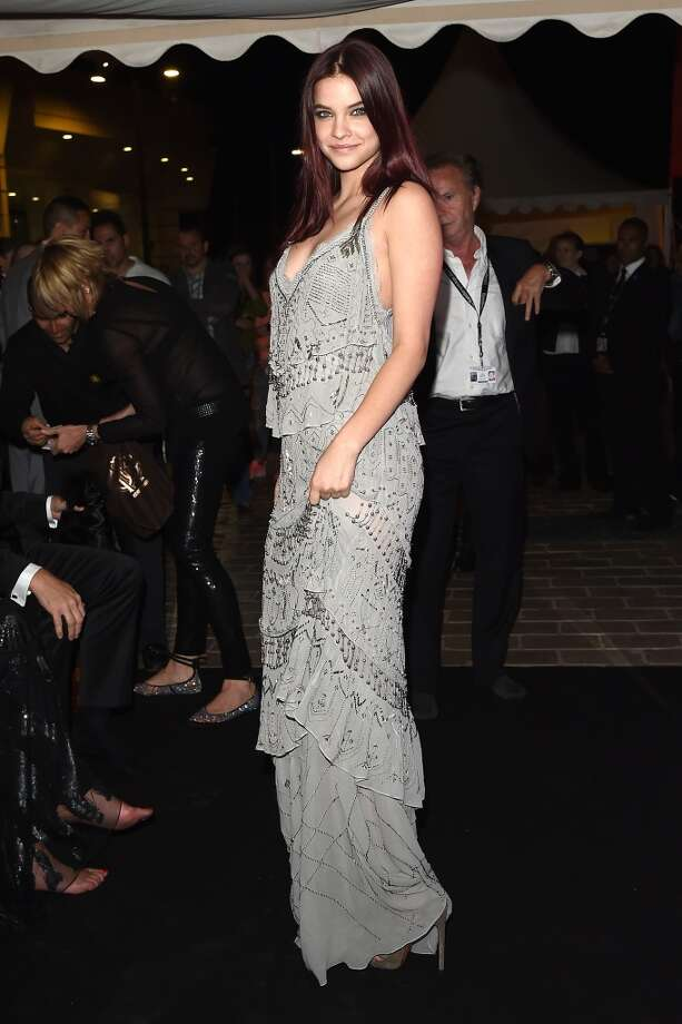 "Barbara Palvin attends the ""Roberto Cavalli Annual Party Aboard"" : Outside Arrivals at the 67th Annual Cannes Film Festival on May 21, 2014 in Cannes, France. Photo: Jacopo Raule, FilmMagic"