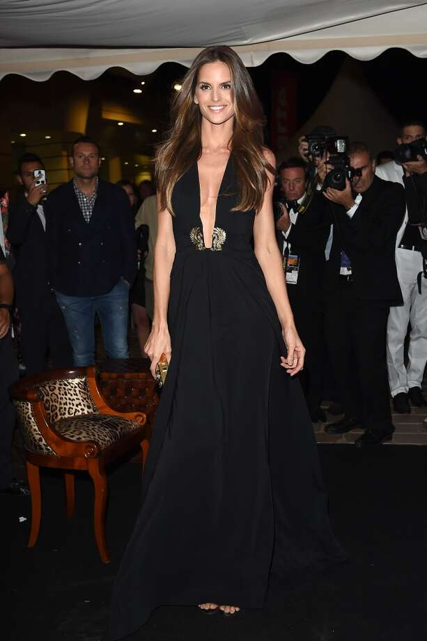 "Izabel Goulart attends the ""Roberto Cavalli Annual Party Aboard"" : Outside Arrivals at the 67th Annual Cannes Film Festival on May 21, 2014 in Cannes, France. Photo: Jacopo Raule, FilmMagic"
