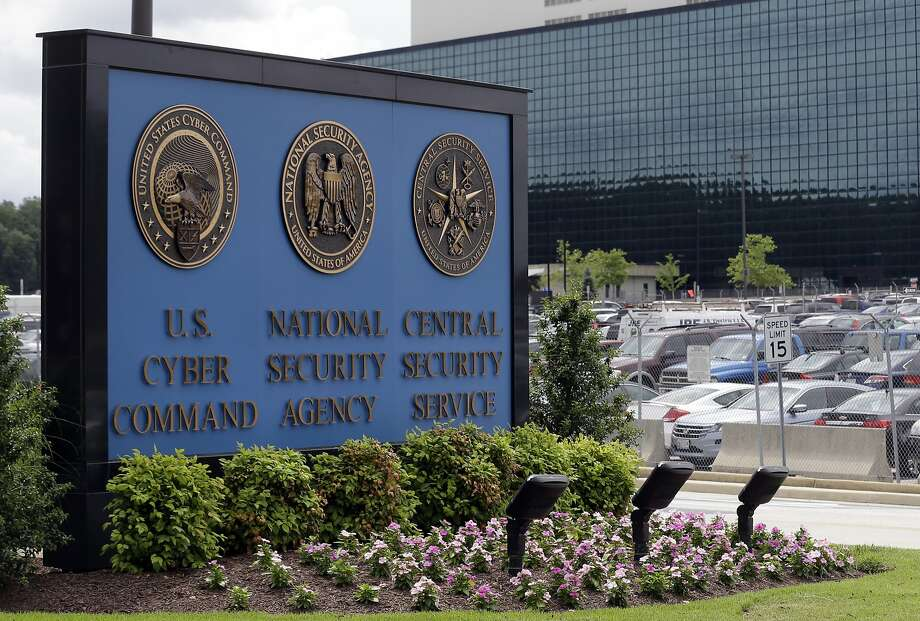 FILE - This June 6, 2013 file photo shows the sign outside the National Security Agency campus in Fort Meade, Md. The House is poised to take the first significant step to change the National Security Agency's bulk collection of American phone records, a compromise bill that is displeasing many civil liberties activists. The bill, scheduled for a House vote on May 22, 2014, instructs the phone companies to hold the records for 18 months and let the NSA search them in terrorism investigations in response to a judicial order.  (AP Photo/Patrick Semansky, File) Photo: Patrick Semansky, Associated Press