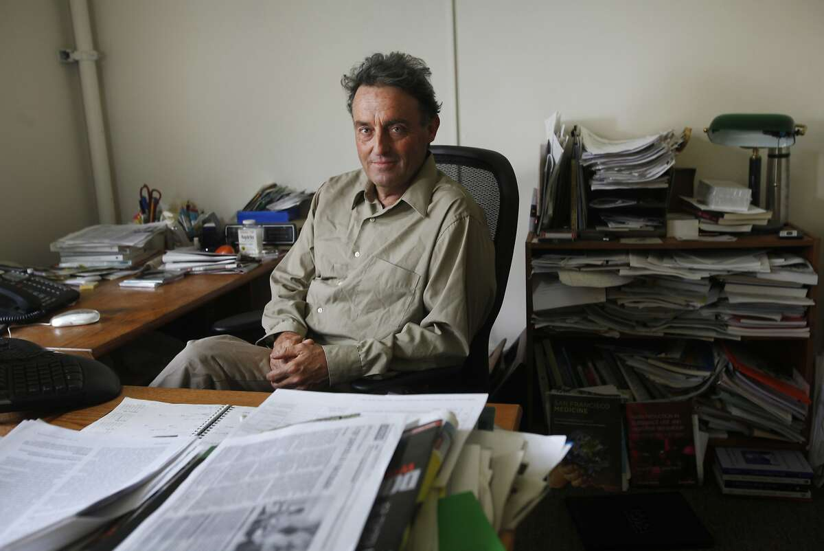 Steve Heilig, Director of Public Health & Education for the SF Medical Society, pictured in his office May 1, 2014 in San Francisco, Calif.