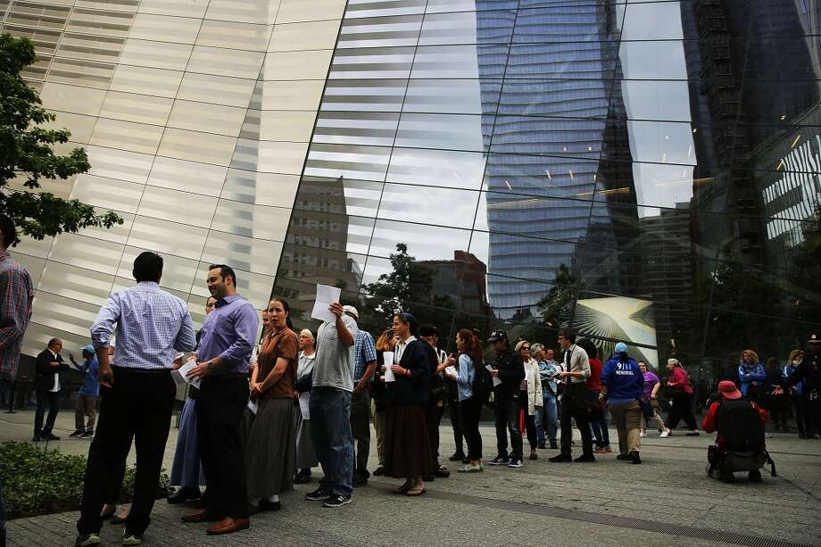 Prior to the opening of the National September 11 Memorial and Museum in New York, there were reports that first responders visiting the museum were kicked out so a cocktail party could be set up. Former Mayor Michael Bloomberg was reportedly in attendance. Photo: Spencer Platt, Getty Images