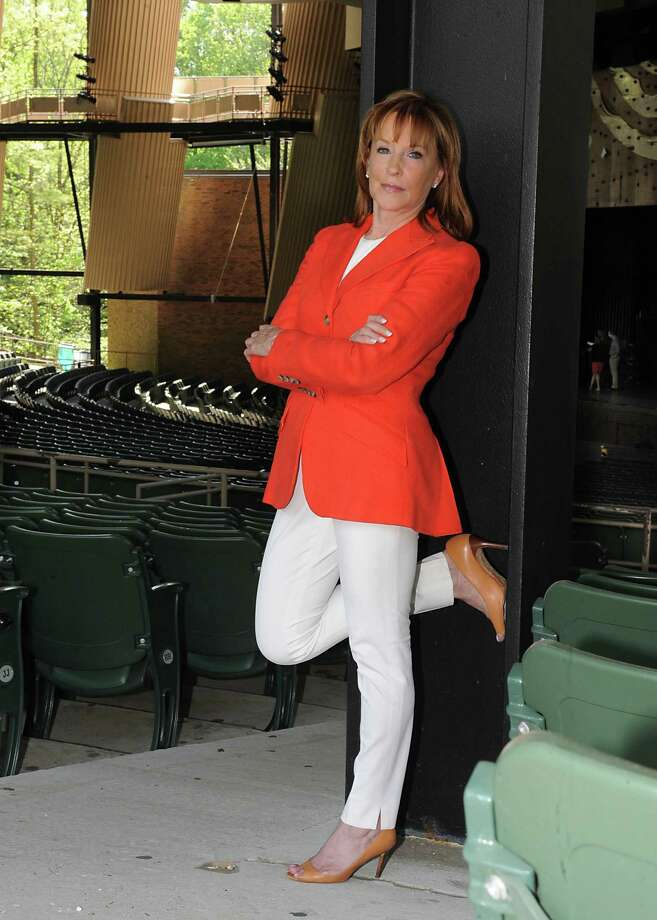 Marcia White, president and executive director of SPAC, stands in the shed of Saratoga Performing Arts Center on Wednesday, May 14, 2014 in Saratoga Springs, N.Y.  (Lori Van Buren / Times Union) Photo: Lori Van Buren / 00026869A