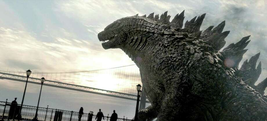 "This film image released by Warner Bros. Pictures shows a scene from ""Godzilla."" (AP Photo/Warner Bros. Pictures) ORG XMIT: CAET550 / Warner Bros. Pictures"