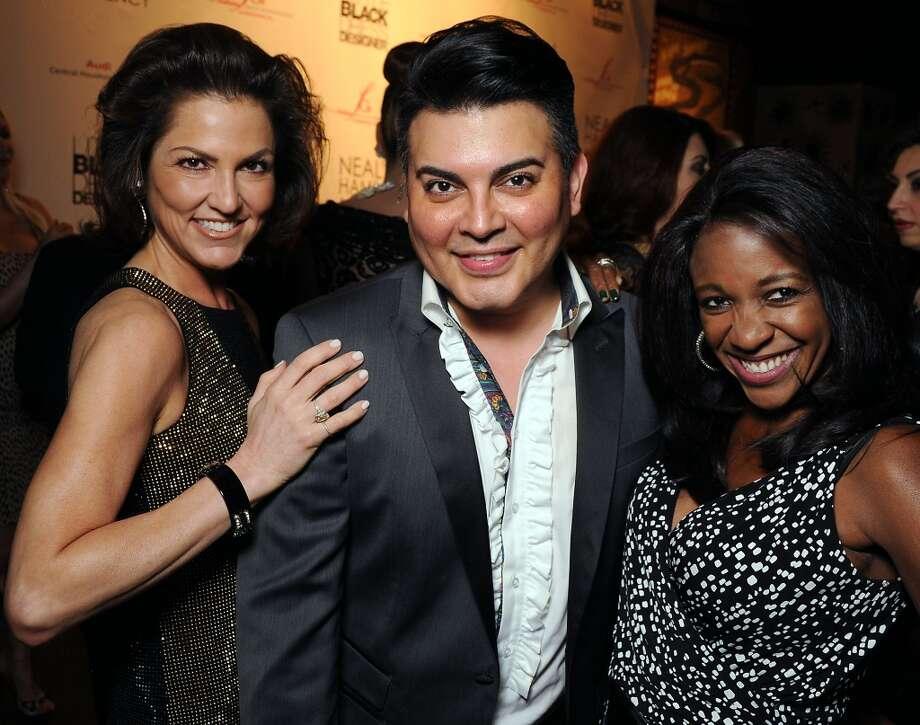 From left: Jessica Rossman, Edward Sanchez and Jacquie Baly Photo: Dave Rossman, For The Houston Chronicle