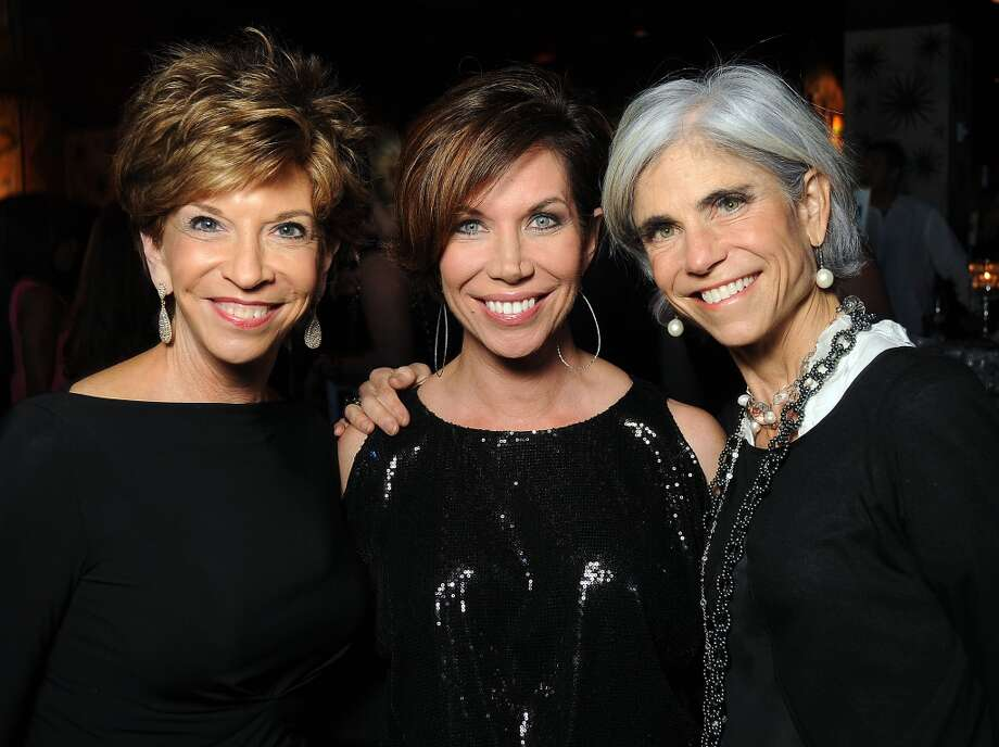 From left: Vicky Rizzo, Roseann Rogers and Judy Nyquist Photo: Dave Rossman, For The Houston Chronicle