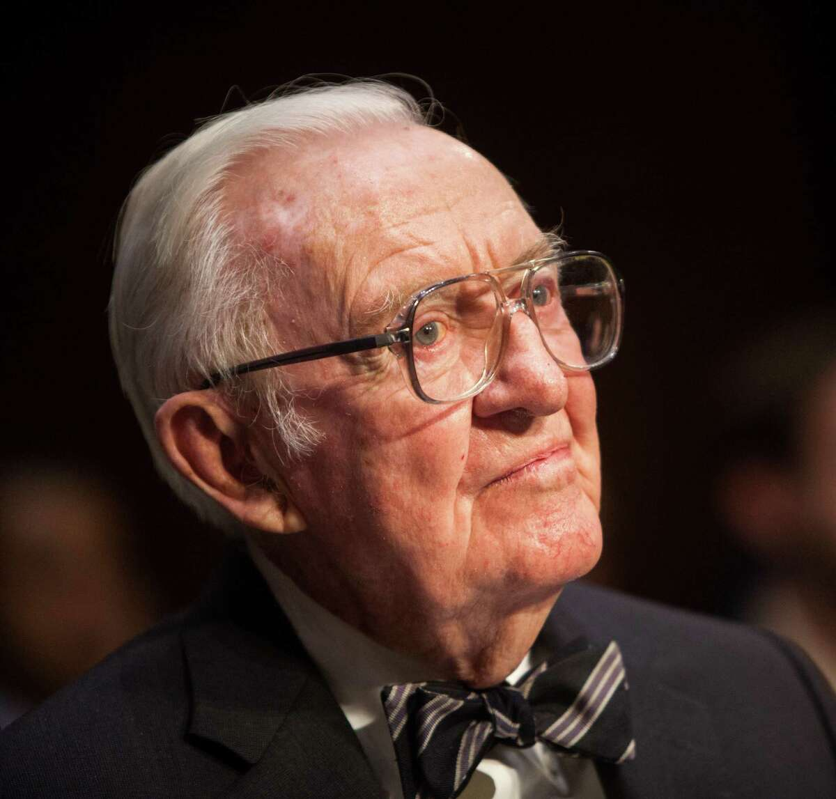 Former Supreme Court Justice John Paul Stevens suggests there be constitutional amendments that would eliminate gerrymandering and allow for limits on campaign contributions and spending.