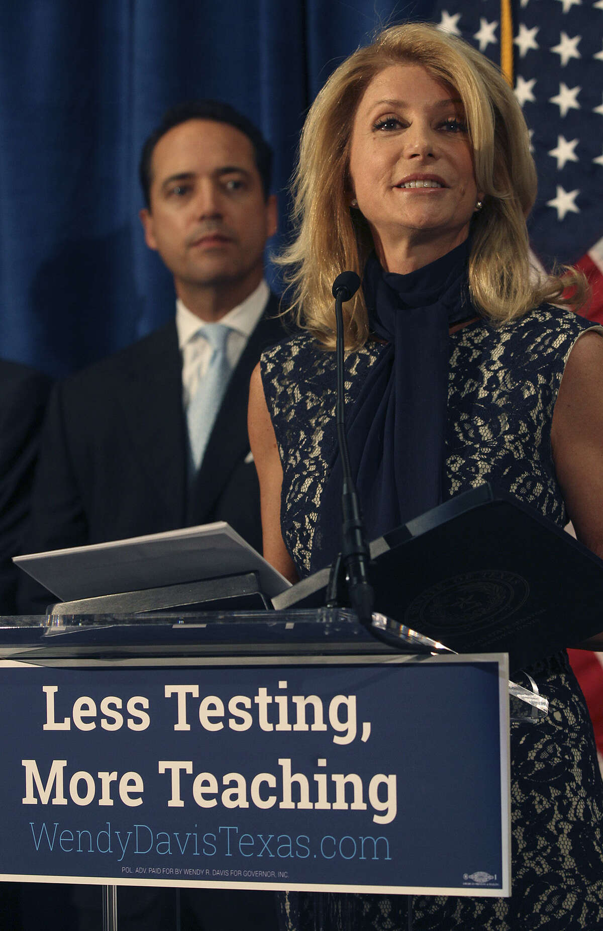 Wendy Davis will need more than her party affiliation.