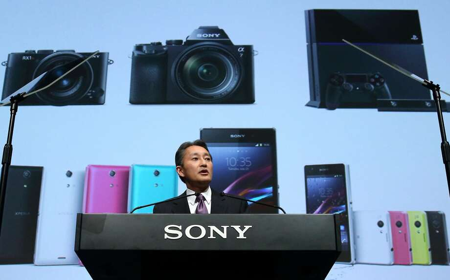 Sony Corp. CEO Kazuo Hirai's vision of a turnaround centers on key technologies such as image sensors, cloud-based services and wearable devices. Photo: Tomohiro Ohsumi, Bloomberg