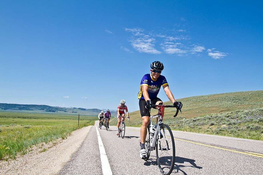 Five scenic mountain passes and four days of riding - up to 370 miles - are on the itinerary of the Cycling  House's Tour de Montana. Photo: The Cycling House