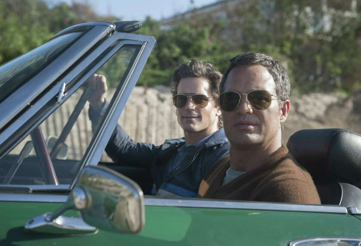 Matt Bomer and Mark Ruffalo (right) star in