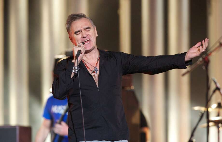 Morrissey: For $100K+, he gets fans storming the stage, like at his recent San Jose, Calif., show. Photo: Ragnar Singsaas, WireImage