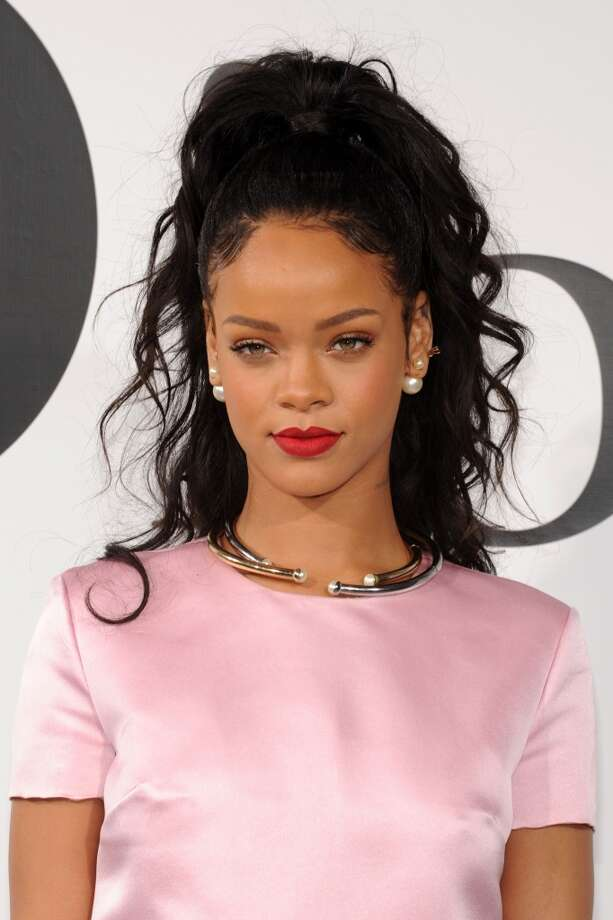 Rihanna: The singer makes it into the $500-$750K range. Photo: Bryan Bedder, Getty Images For Christian Dior