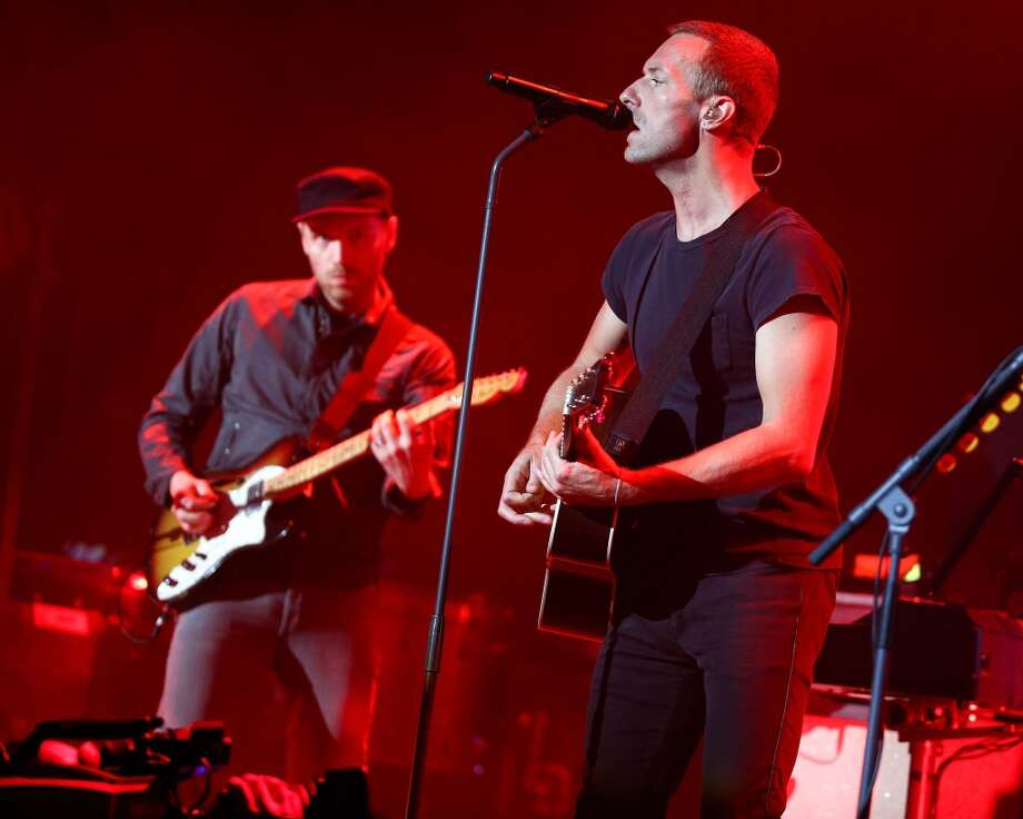Coldplay: The band's consciously uncoupling frontman Chris Martin recently said they can't afford to tour. They get 750K+, so we're not so sure about that. Photo: Imeh Akpanudosen, Getty Images