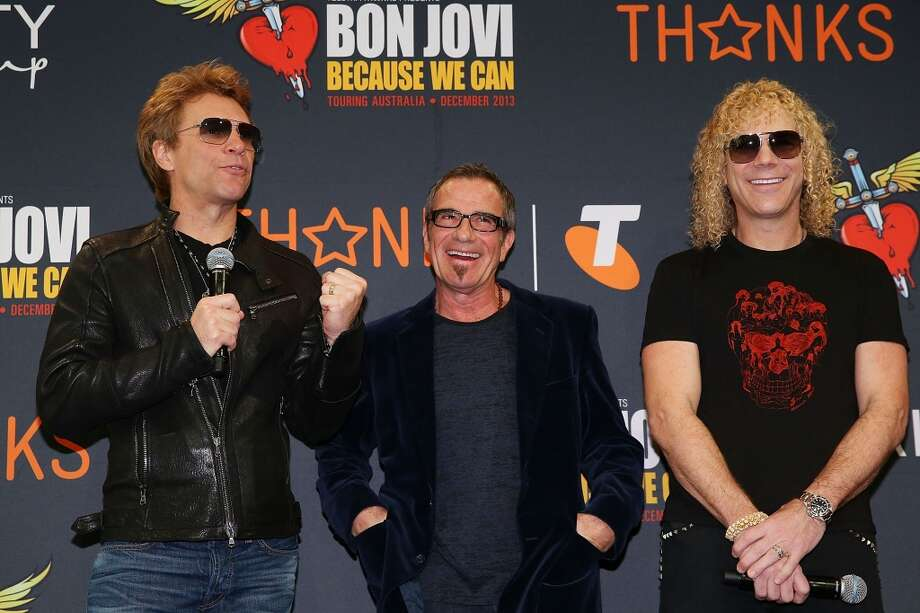 Bon Jovi: The longtime band is part of the $1 million + club. Photo: Michael Dodge, Getty Images