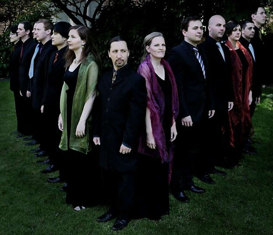 The Belgian choir Vox Luminis will appear at the Berkeley Festival & Exhibition after Artistic Director Robert Cole discovered them on YouTube. Photo: Ola Renska