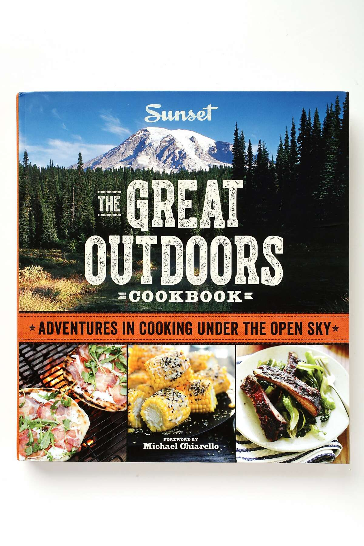 """""""The Great Outdoors Cookbook"""" by Sunset as seen in San Francisco, California, on May 7, 2014."""