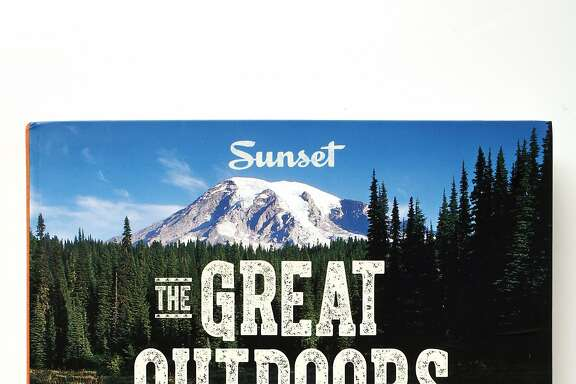 """The Great Outdoors Cookbook"" by Sunset as seen in San Francisco, California, on May 7, 2014."