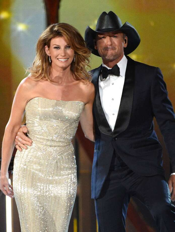 Faith Hill and Tim McGraw: Talk about a power couple. Each of these singers is in the $500K+ group. Photo: Ethan Miller, Getty Images