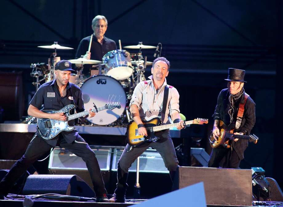 Bruce Springsteen: The boss is boss. He gets $1 million+. Photo: Owen Sweeney, Associated Press