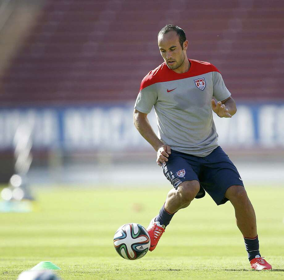 Landon Donovan, an American soccer mainstay and goals record holder, won't be going to Brazil. Photo: Tony Avelar / Associated Press / FR155217 AP