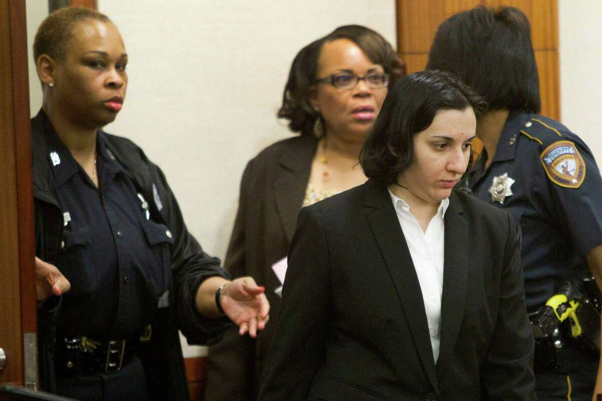 Modarresi did not react to the verdict or to her sentence of life in prison.