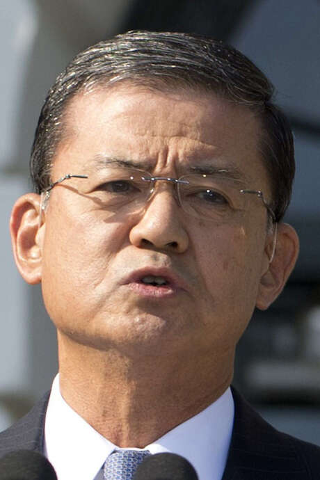 VA Secretary Eric Shinseki pledged to address allegations against his agency. / AFP