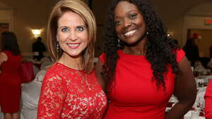 Were you Seen at the 10 th Annual Go Red for Women luncheon, a benefit for the American Heart Association, at the Albany Marriott in Colonie on Thursday, May 22, 2014?