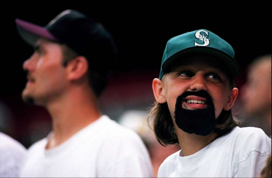Bobby Ayala Goatee Night  While we're on the subject of personal grooming, how about this one? Former pitcher Bobby Ayala may not be the most revered player in Mariners history, but at least he had one notable feature: a goatee. On June 28, 1995, fans who showed up at the Kingdome wearing a goatee got free entry to the game. It even worked for 11-year-old Veronica Decoto (pictured), who wore a stick-on goatee to the ballpark. Photo: Mike Urban, Seattle P-I Archives