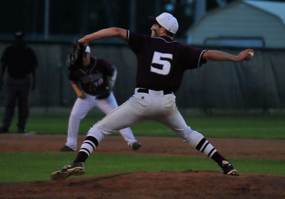 Silsbee took on Caldwell in game two at Adam Dunn Field in New Caney on Thursday night. This is the second-consecutive season that the Tigers have made it this far in the playoffs, advancing all the way to the State Semifinals last season. Photo by Cassie Smith/@smithcassie. May 22, 2014.
