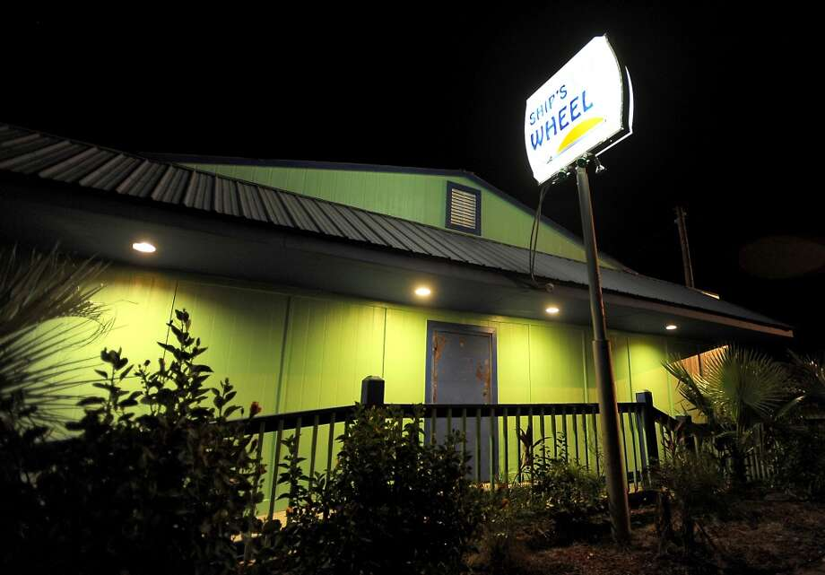 The Ship's Wheel is a popular late night hot spot on the Bolivar Peninsula, Saturday, June 16, 2012.  Tammy McKinley/The Enterprise